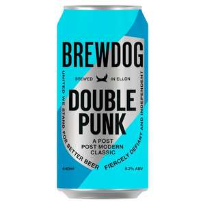 Brewdog Double Punk India Pale Ale 4x440ml Instore £3.36 instore @ Tesco (Bradford)