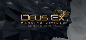 Deus Ex: Mankind Divided - Digital Deluxe Edition PC (DRM Free) £4.99 @GOG