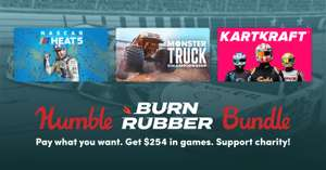 PC Burn Rubber Bundle: Dirt Rally 2, Pacer, Assetto Corsa, GRIP, KartKraft, Monster Truck, Nascar Heat 5 - £8.67 @ Humble Bundle