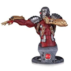 DC Statue Super Villains Deadshot Bust 17cm Ltd. Edition / Designed by Jim Lee / Sculpted by Alejandro Pereira £15.99 del. with code @ Zavvi
