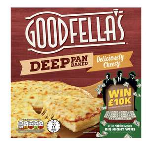 Goodfella's Deep Pan Baked Deliciously Cheesy 421g - £1 (+ Delivery Charges / Min Spend Applies) @ Iceland