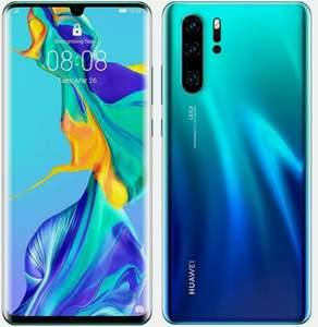 NEW Huawei P30 Pro VOG-L09 Smartphone 8GB RAM 128GB Unlocked - Aurora £368.99 with code @ eBay - cheapest_electrical