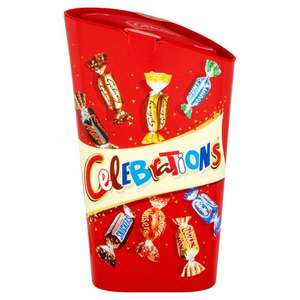 Free £2 Treat with code - 250 items to choose from e.g Celebrations Box 240g (+ Del Charge and Min Spend Applies) @ Iceland
