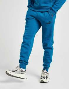 New Puma Men's Core Fleece Joggers in Digi Blue or Red £17.59 Delivered (With Code) @ jdoutlet / eBay