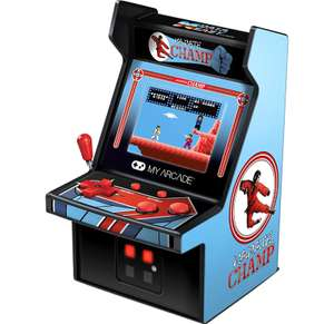 DreamGear Retro Arcade 6 Inch Karate Champ Micro Player - £9.99 + £1.99 delivery / free for Red Carpet members @ Zavcvi