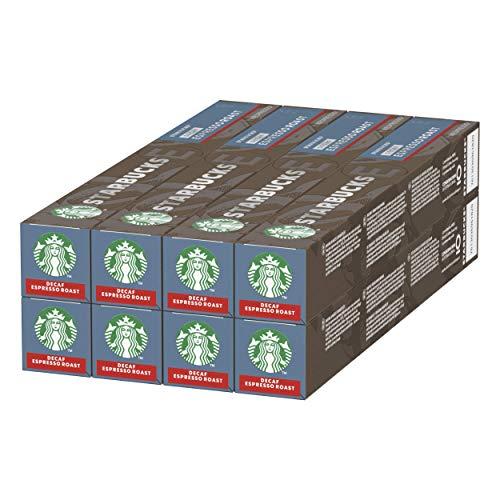 80-Count Starbucks Decaf Espresso Roast by Nespresso Dark Roast Coffee Pods - £19.22 (+£4.49 Non Prime / Possible £17.30 with S&S)