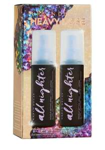 All Nighter Heavy Dose Setting Spray Duo - £27.30 delivered @ Urban Decay Shop