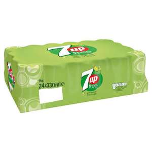 7UP Free 24 x 330ml £6.75 (+ Delivery Charges / Min Spend Applies) @ Iceland