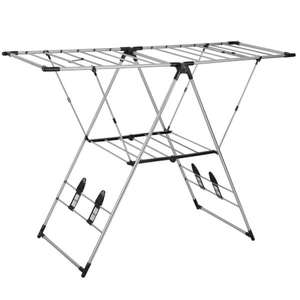 14m X-Wing Folding Airer for £12 ( £18 delivered) @ Homebase