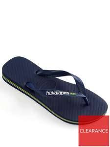 Havaianas Brasil Logo Flip Flop - £8.25 / £12.24 delivered @ Very
