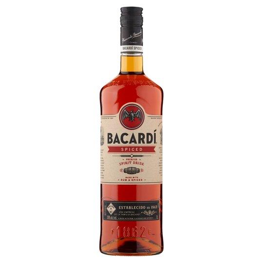 Bacardi Spiced Rum 1l £12.10 instore @ Tesco Express Great Shelford, Cambridge