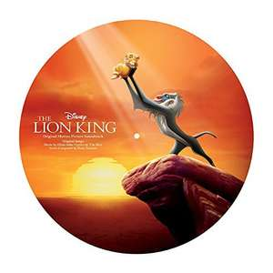 The Lion King - 1994 [180g VINYL] Picture Disc - Original Motion Picture Soundtrack - £13.61 delivered (UK Mainland) @ Amazon Germany
