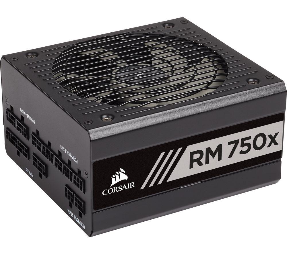 Corsair RM750x 750W Modular Power Supply 80 Plus Gold PSU £102.04 @ Ebay CCL