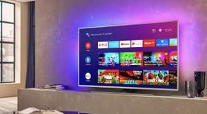 """Philips 65PUS8535 65"""" Smart Ambilight 4K Ultra HD Android TV £659 with code (UK Mainland) @ AO"""