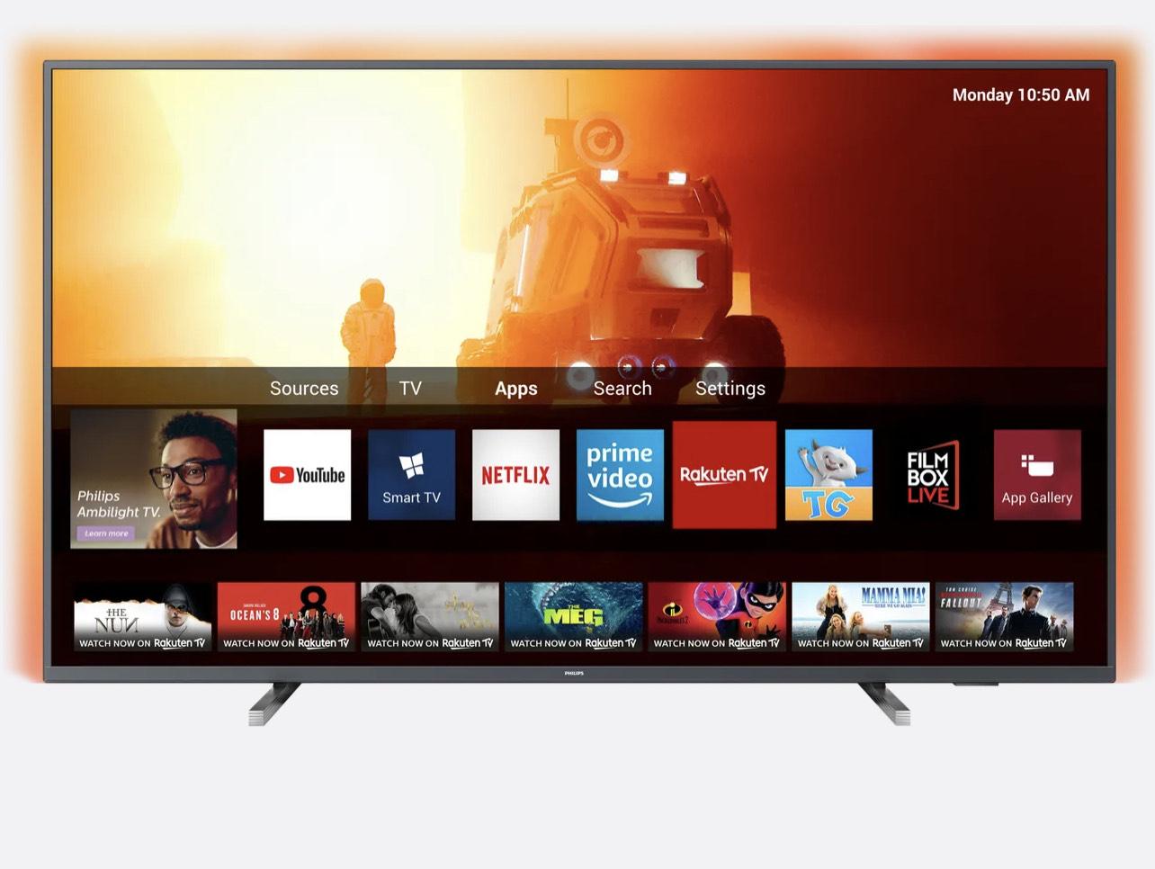 "Philips 65PUS7805 65"" Smart Ambilight 4K Ultra HD TV £599 with code (UK Mainland) @ AO"