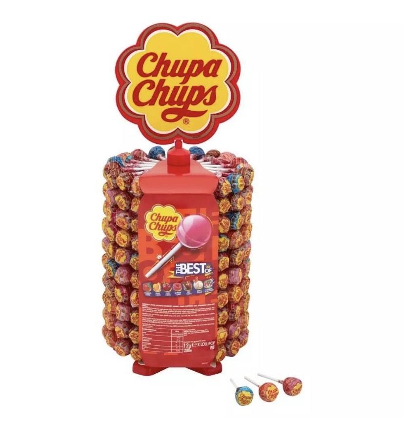 Chupa Chups 200 Lollies With Display Stand Wheel 23.52 with code @ xsitems_ltd ebay