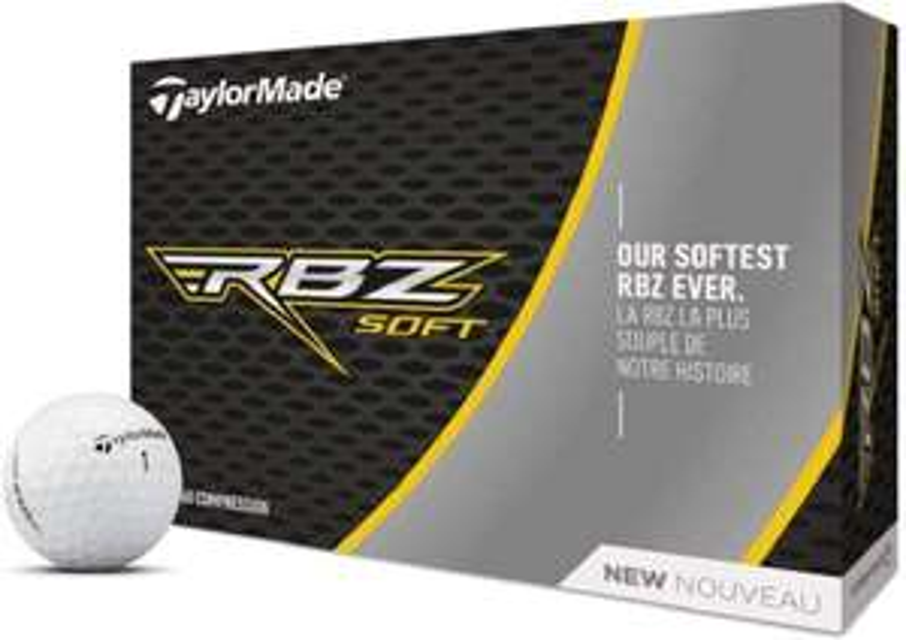 TaylorMade RBZ Soft Golf Balls 12 ball white £12.49 + £4.49 Non Prime @ Amazon