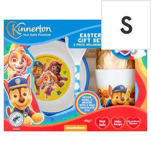 Paw Patrol Easter Egg And Meal Time Set £5.00 (Min basket / Delivery charge applies) @ Tesco