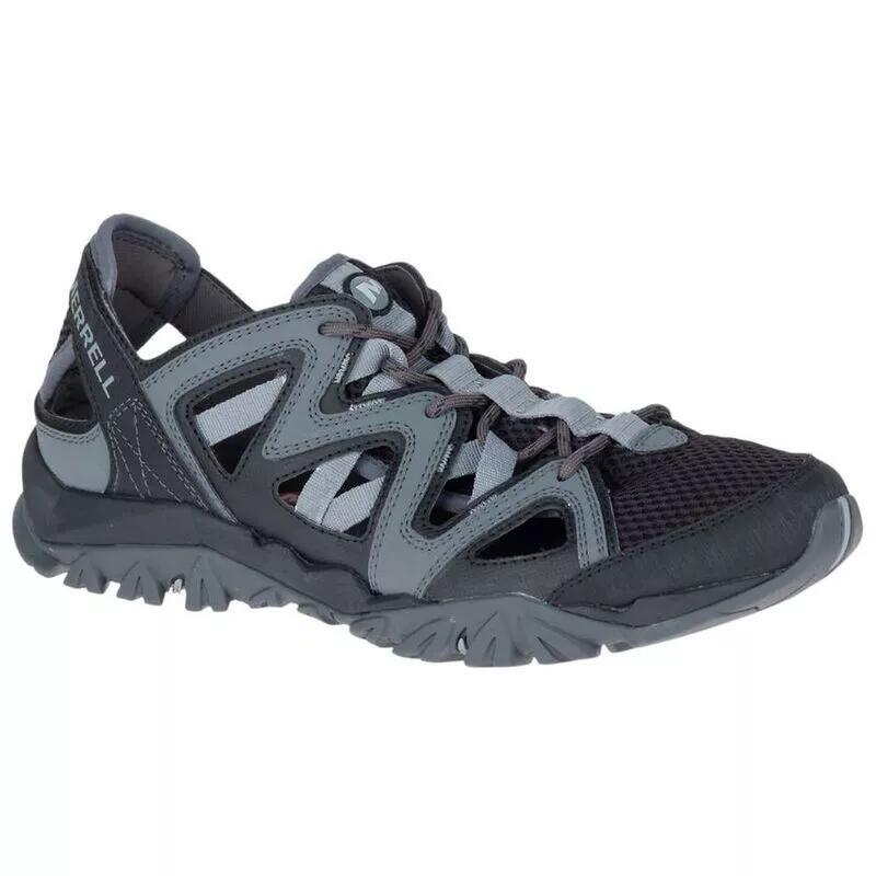 MERRELL Mens Tetrex Crest Wrap Sandals/Water Shoes (Black) - £38.98 Delivered @ Sportpursuit