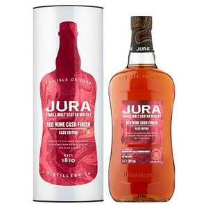Jura Red Wine Cask Edition Single Malt Whisky 1L - £30 (+ Delivery Charges / Min Spend Applies) @ Sainsbury's