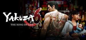 Yakuza 6: The Song of Life (Steam PC) - £11.15 @ 2Game