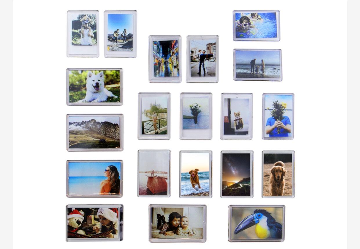 Pack of 20 Mini Photo Frame Magnets   Pukkr £2.99 + £2.95 delivery = £5.94 delivered @ Roov