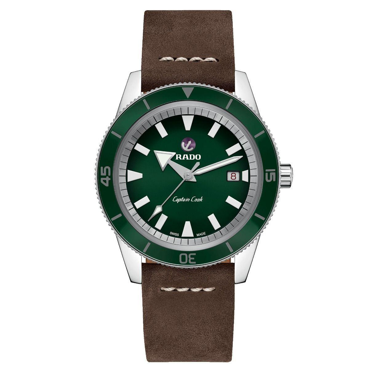 RADO Captain Cook 42MM Mens Watch R32505315 (Special order 6-8 weeks) £900 @ Goldsmiths