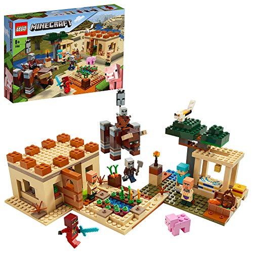 Lego 21160 Minecraft The Illager Raid £47.48 delivered (UK Mainland) @ Amazon Germany