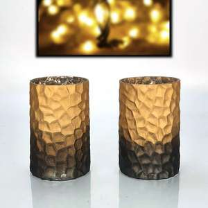 2 x Official Yankee Halloween Pillar Candle Vase Holders Only £3 delivered @ Yankee Bundles