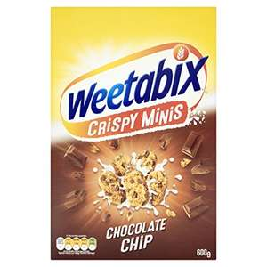 Weetabix Crispy Minis - Pack of 10 x 600g - £14 (apply £6 voucher) @ Amazon Delivered Prime (+£3.99 non Prime)