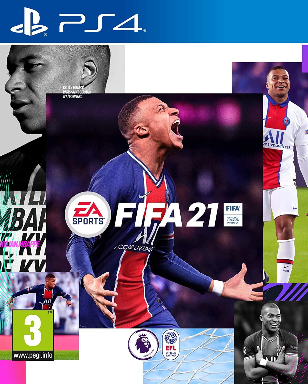 Fifa 21 for PS4 for £17.99 Amazon Prime (+£2.99 non Prime)