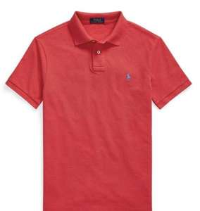 Ralph Lauren red polo shirt mens - £26.99 (+£4.99 Delivery) @ House of Fraser