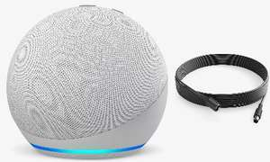 Amazon Echo Dot 4th Gen + Philips Hue 5 Metre Extension Cable £36.98 + Free Collection (Free Delivery £50+) @ John Lewis & Partners