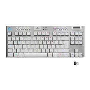 Logitech G915 TKL LIGHTSPEED Wireless RGB Mechanical Gaming Keyboard - White £147 @ Amazon