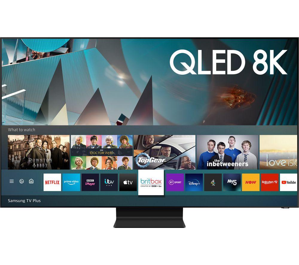 "SAMSUNG QE75Q800TATXXU 75"" Smart 8K HDR QLED TV with Bixby, Alexa & Google Assistant £2498 @ Currys PC World"