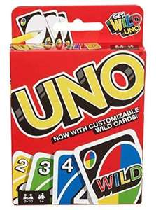 UNO Card Game (5+ Years) £5 @ Asda (+ delivery / minimum basket charges apply)
