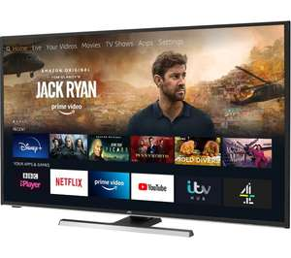 "JVC LT-55CF890 55"" Smart 4K Ultra HD HDR LED TV with Alexa £359.99 @ currys"
