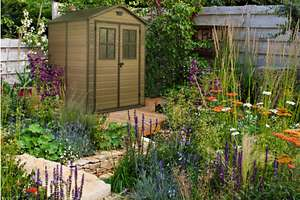 Keter Plastic Garden Shed Scala 6 x 5ft £374.95 at ebay/gardenstoredirect (