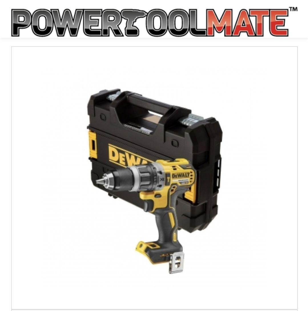 Dewalt DCD796N 18v XR Brushless Compact Combi Hammer Drill Bare + Tstak DCD796NT £76.99 @ powertoolmate.co.uk