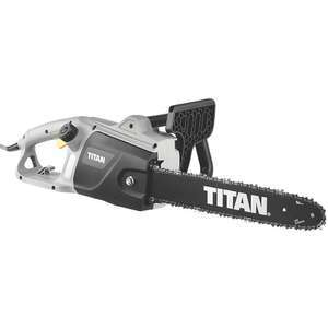 Titan TTL758CHN 2000W 230V Corded 40cm Electric Chainsaw £34.99 + 2 Year Guarantee (Free click and collect) @ Screwfix