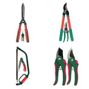 Qualcast Lopper and Secateurs / Hedge Shear And Snip £4.95 or Qualcast Pruner x2 / Bow Saw & Folding Saw £3.95 (Click & Collect) @ Homebase