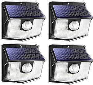 4 MPOW solar powered fence security/motion lights - £21.66 @ Sold by Litjoy and Fulfilled by Amazon.