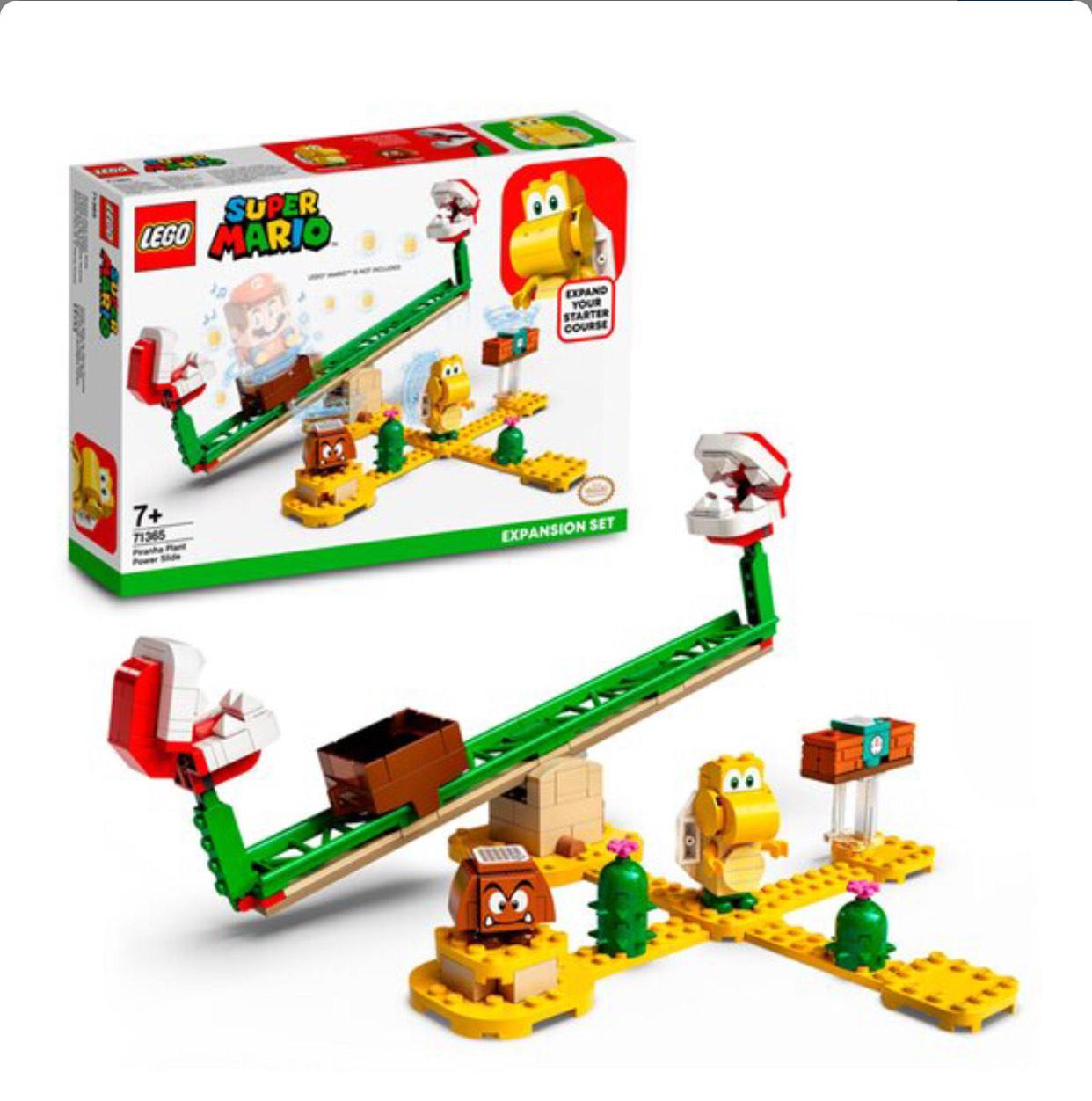 LEGO Piranha Plant Power Slide Set 71365 at Tesco - £13.75