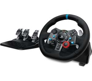 Logitech G29 Steering Wheel with Driving Force Shifter £225 with code @ Currys