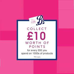 £10 worth of points for every £60 you spend on Electrical Beauty - stacks 1/2 price electricals, and more @ Boots