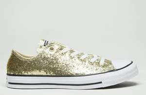 Women's Converse Chuck Taylor All Star Ox Glitter Trainers £29.99 Free delivery @ Schuh