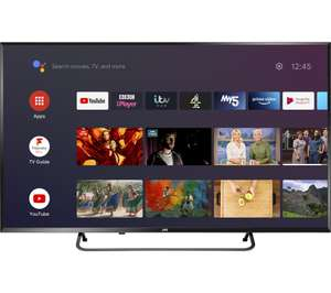 """JVC LT-40CA890 Android TV 40"""" Smart 4K Ultra HD HDR LED TV with Google Assistant £229"""