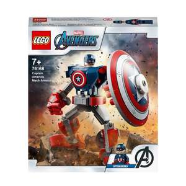 Lego Marvel Avengers Captain America 76168 £5 @ Morrisons (Camborne)