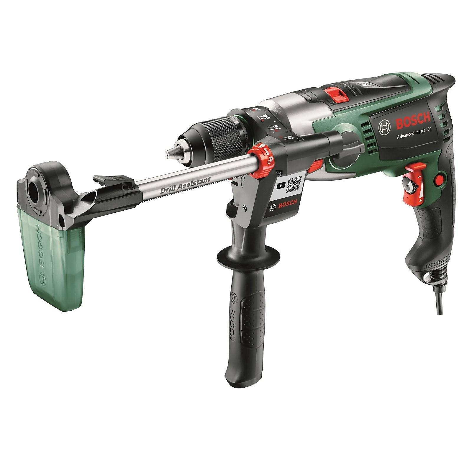 Bosch AdvancedImpact 900W Hammer Drill & Drill Assistant for £65 click & collect @ Homebase