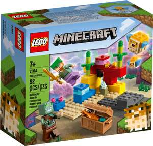 Lego Minecraft 21164 The Coral Reef £5 @ Morrisons (Camborne)